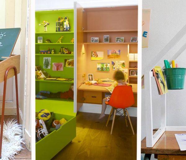 Chambre d'enfant : 22 bureaux de rêve pour une rentrée réussie