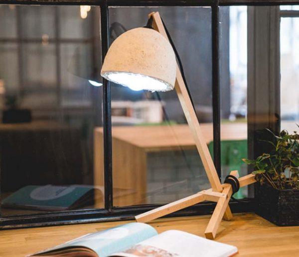 Fabriquez votre lampe... à partir de champignons !