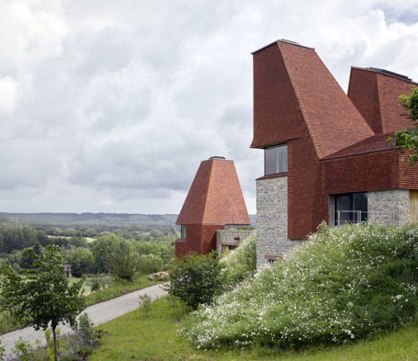 Cette maison de campagne typiquement anglaise est un modèle de construction durable