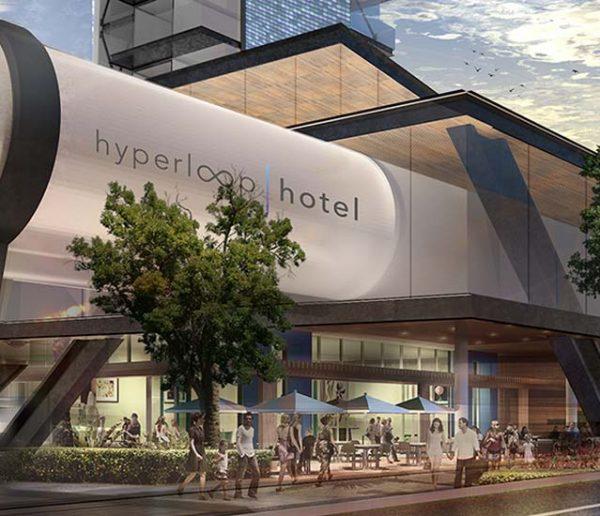 Bienvenue à Hyperloop, l'hôtel futuriste qui voyage à très grande vitesse
