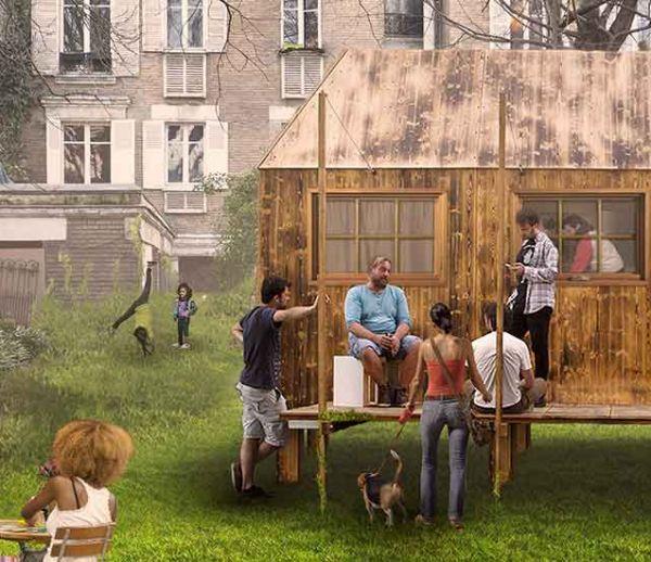 Des tiny houses dans nos jardins pour accueillir les personnes réfugiées
