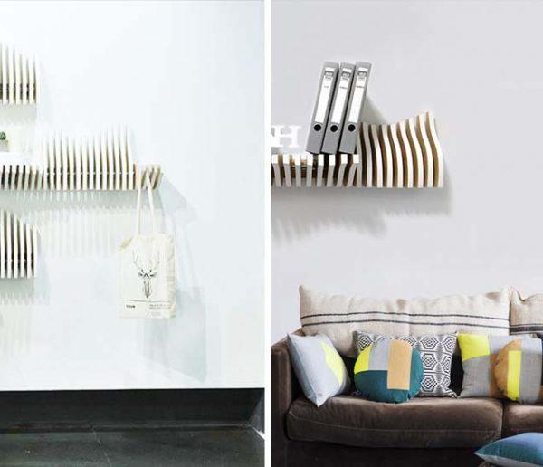 Et si vos étagères s'adaptaient à vos objets ?
