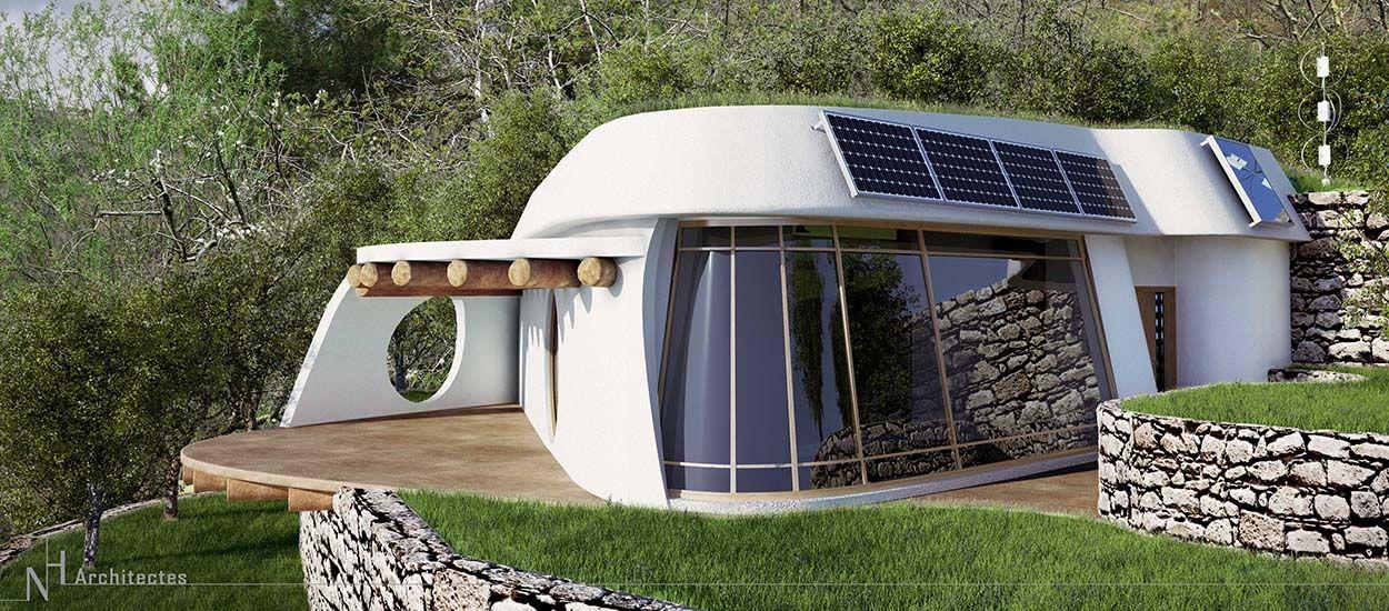 Construction Ecologique Decouvrez Une Earthship Moderne Et