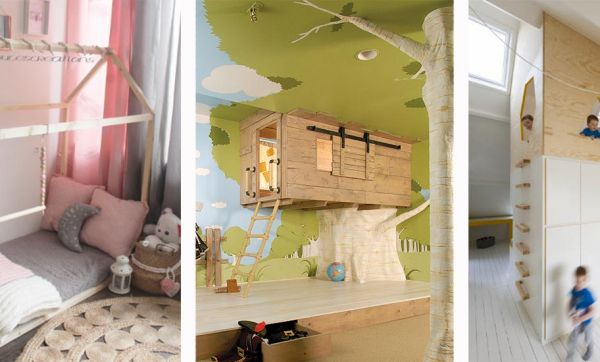 22 lits cabanes pour que votre enfant passe une nuit de rêve