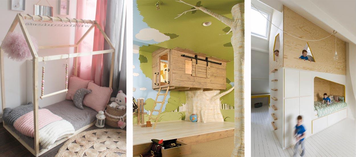 chambre d enfant notre s lection des plus beaux lits cabanes. Black Bedroom Furniture Sets. Home Design Ideas