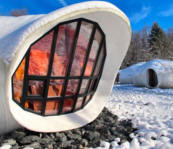 Ces maisons bulles imaginées par un célèbre architecte sont à vendre dans les Vosges !