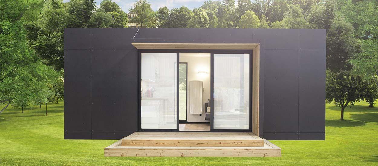 une pi ce en plus module nova made in france installer dans son jardin. Black Bedroom Furniture Sets. Home Design Ideas