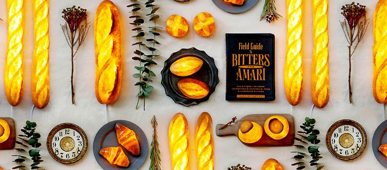 Ces lampes étonnantes sont fabriquées avec du vrai pain !