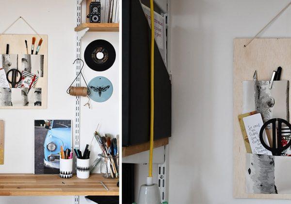 Tuto pegboard fabriquez un organisateur de bureau aux couleurs