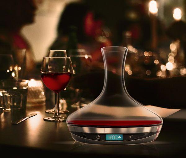 Avec cette carafe du futur votre vin sera toujours à la température idéale
