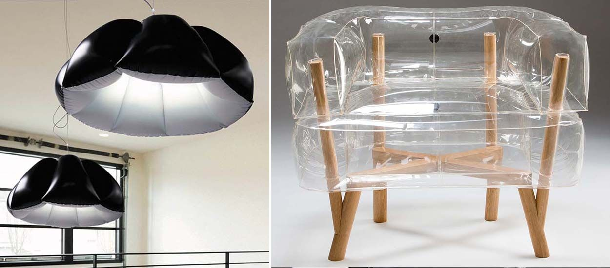 Tendance déco : et si vous adoptiez ces meubles gonflables ?
