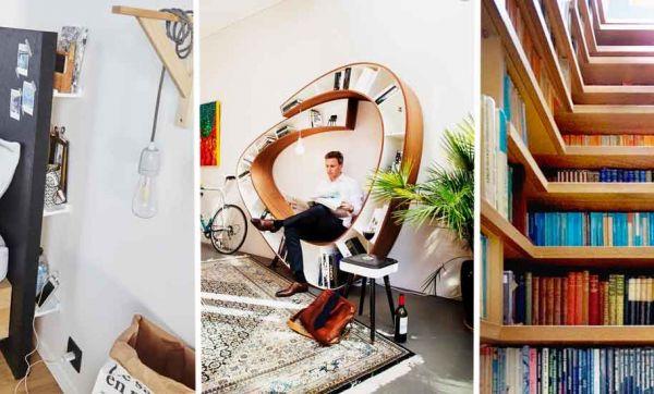 Avis aux amoureux de la lecture : 16 idées surprenantes pour ranger tous vos livres