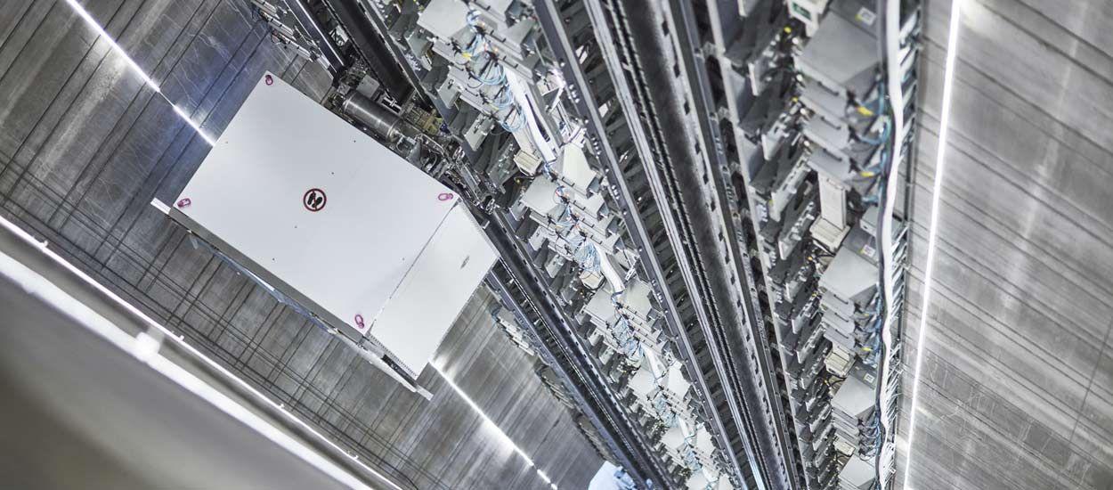 Cet ascenseur du futur peut se déplacer à l'horizontale !