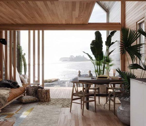 Surf Shack, la petite maison chic à construire soi-même