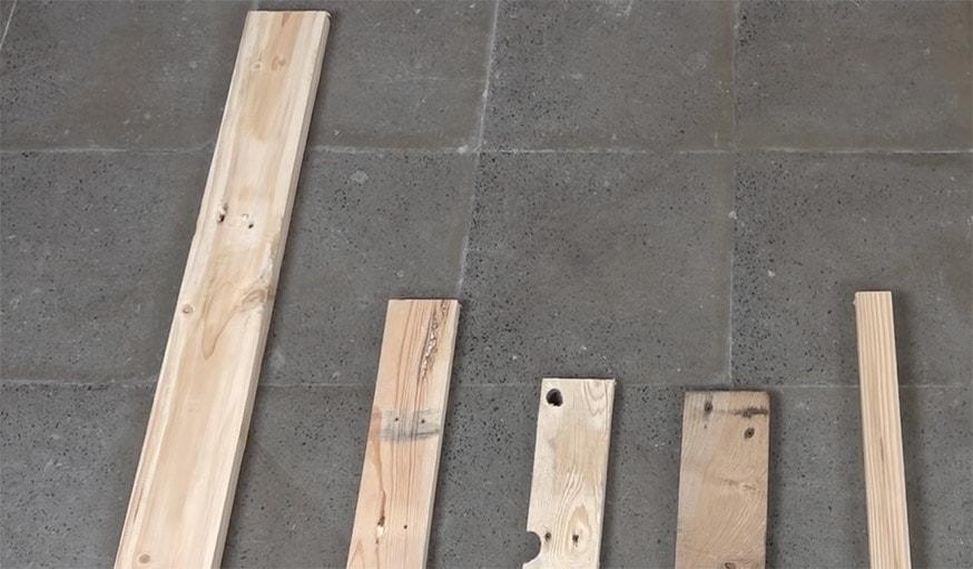 diy pour r aliser une chaise en bois de palette fabriquer une chaise pas cher. Black Bedroom Furniture Sets. Home Design Ideas
