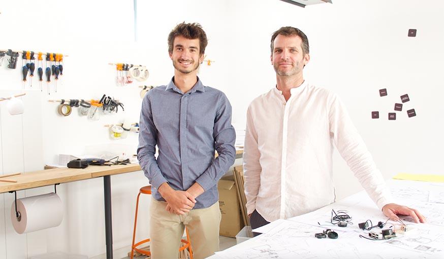 Guillaume Barathon et Charlie Rousset, cofondateurs du projet.
