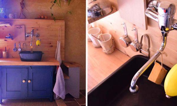 Avant / Après : Cette cuisine accueille une commode Montessori pour les enfants