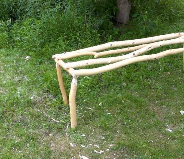Tuto : Fabriquez un banc pour camper au fond de votre jardin