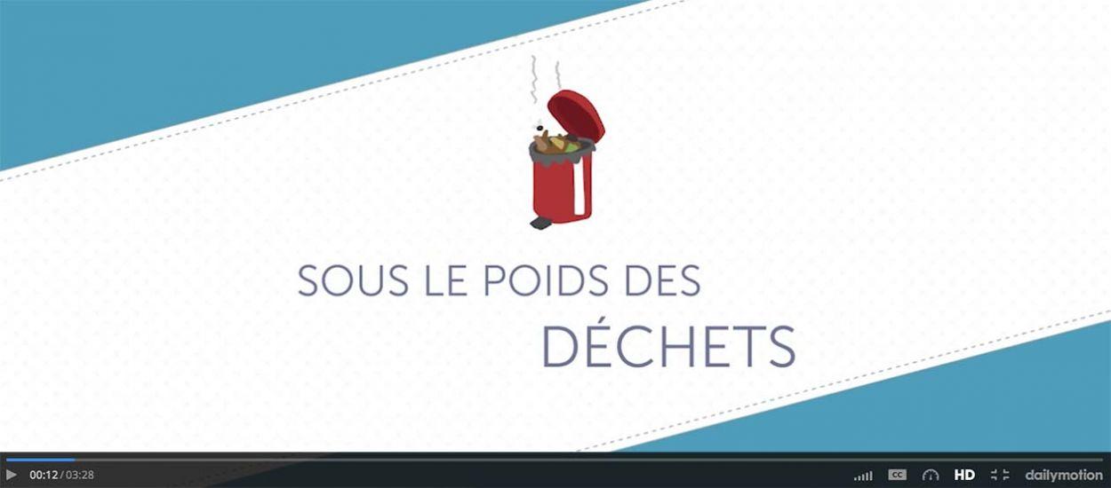 Zéro déchet : cette vidéo d'animation ludique explique aux 13-17 ans le poids des déchets