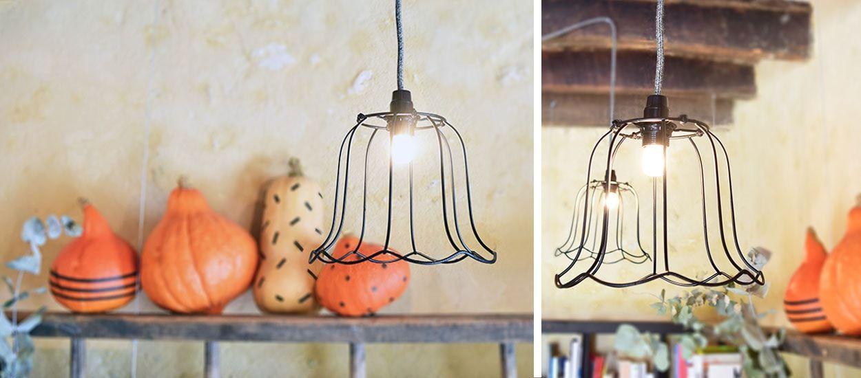 Tuto : Confectionnez de jolies suspensions minimalistes avec d'anciens abat-jours