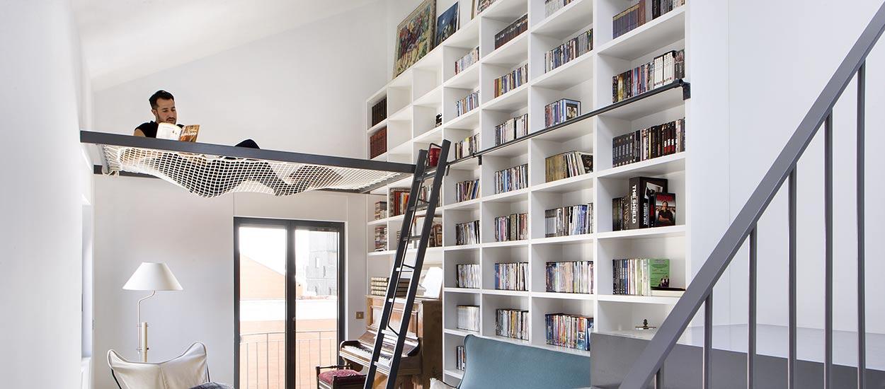 conseils d architecte pour installer un filet suspendu un filet suspendu chez soi. Black Bedroom Furniture Sets. Home Design Ideas