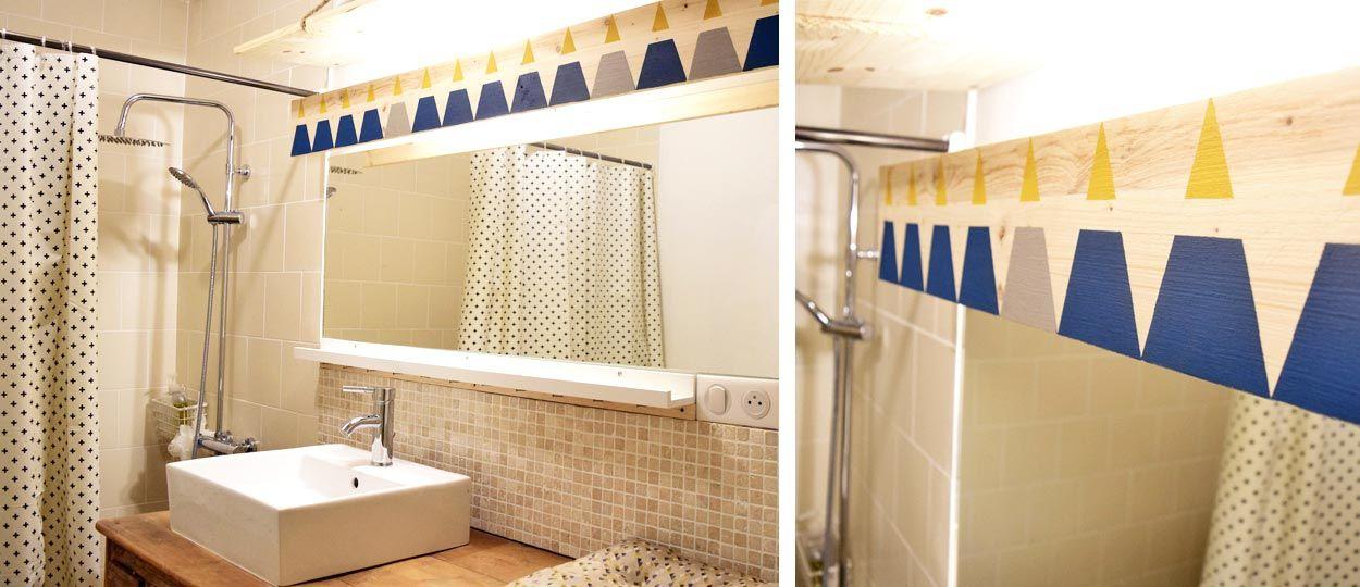 Diy pour fabriquer une lampe de salle de bains avec un - Bandeau led salle de bain ...
