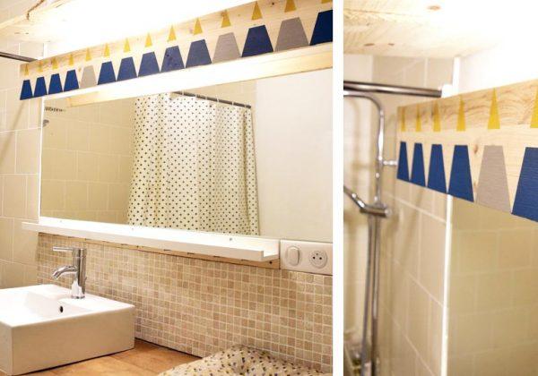 Applique salle de bain avec prise qui sont old fashioned