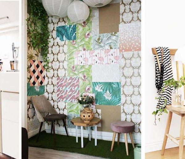 10 idées originales pour pimper facilement son intérieur avec du papier peint !