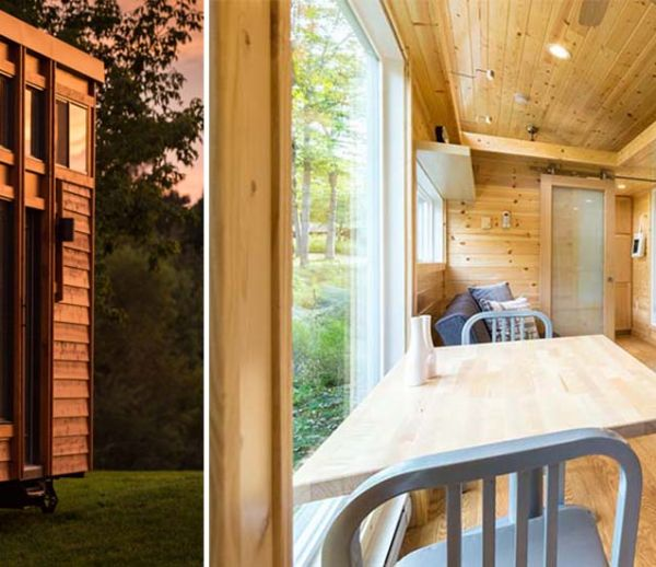 Cette tiny house écolo peut accueillir jusqu'à 10 personnes !