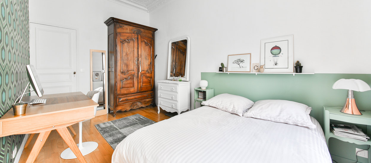 m langer papier peint avec la peinture de vos murs les. Black Bedroom Furniture Sets. Home Design Ideas