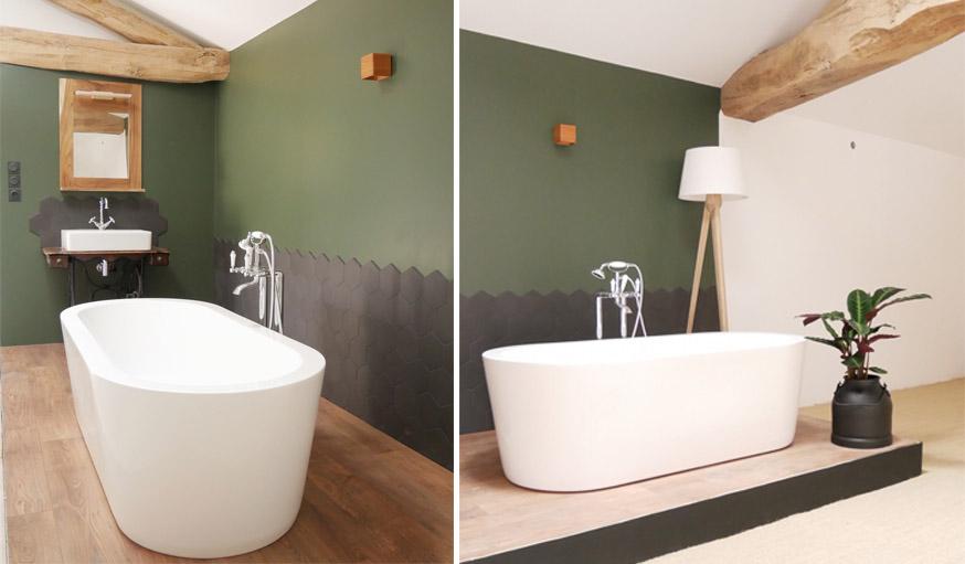 Besoin d\'idées de couleurs pour votre salle de bains ? Voici ...