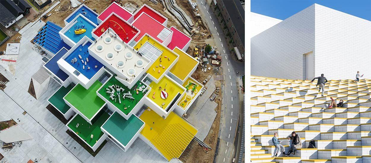 Cet immeuble de 23 mètres de haut a été fait à partir de LEGO géants