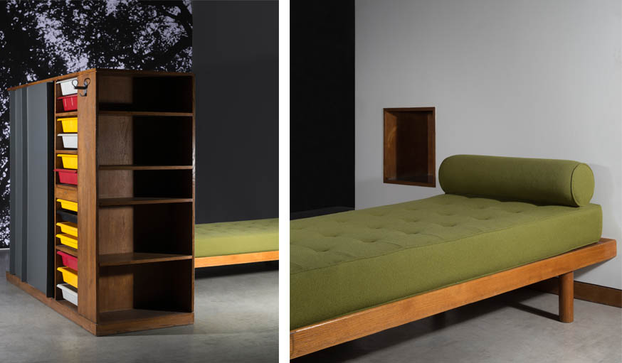 ventes aux ench res charlotte perriand 20 meubles de la designer fran aise. Black Bedroom Furniture Sets. Home Design Ideas