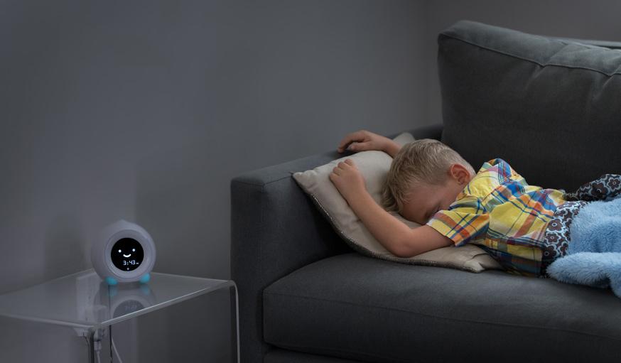 un r veil pour apprendre l 39 heure et aider les enfants mieux dormir. Black Bedroom Furniture Sets. Home Design Ideas