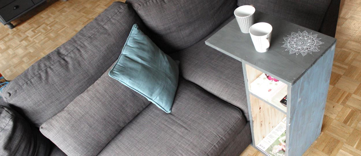 Tuto : Fabriquez un bout de canapé pour siroter votre thé