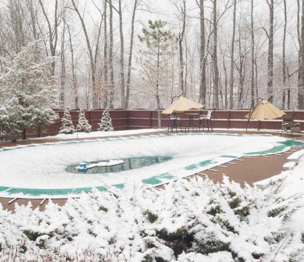 Comment préparer votre piscine pour l'hiver ?