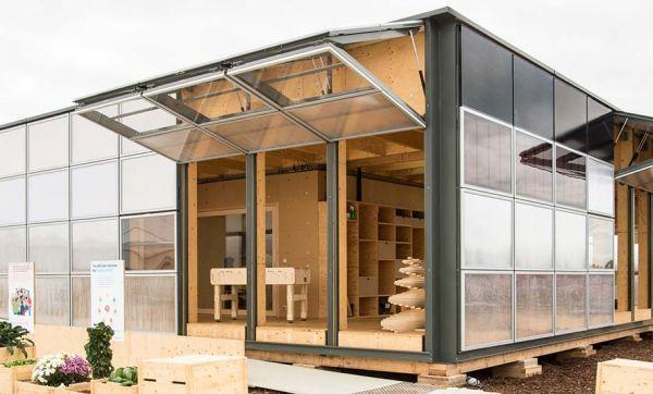 Voici la maison solaire de l'année, conçue pour sensibiliser tout un quartier à l'écologie