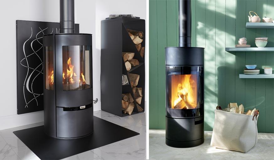 s lection de po les bois les nouveaux atouts design de votre int rieur. Black Bedroom Furniture Sets. Home Design Ideas