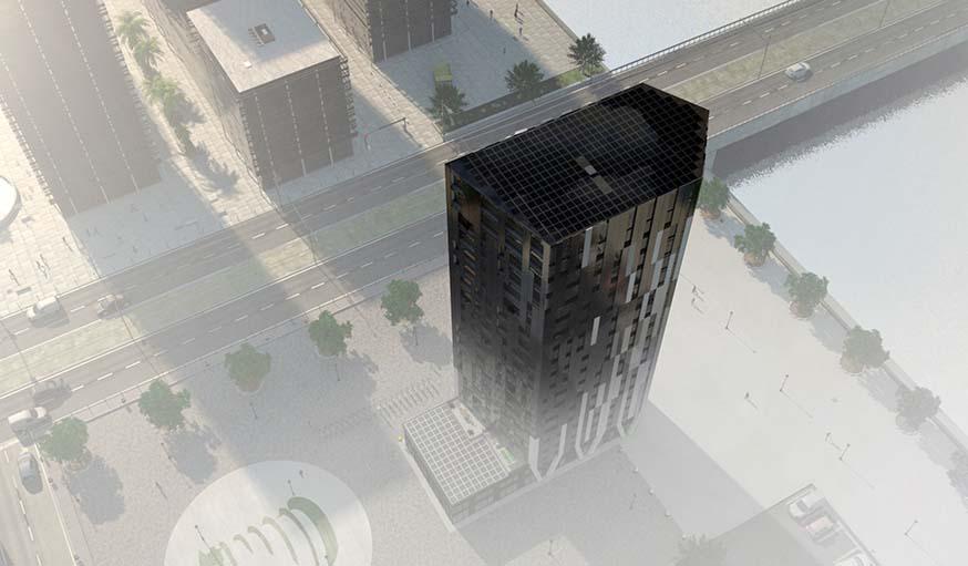 L'immeuble à énergie positive sera livré fin 2017.