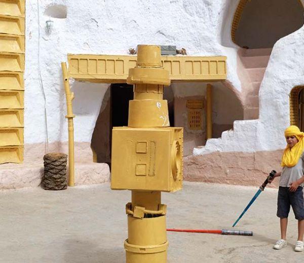 Nous avons visité les maisons troglodytes et futuristes qui ont inspiré Star Wars