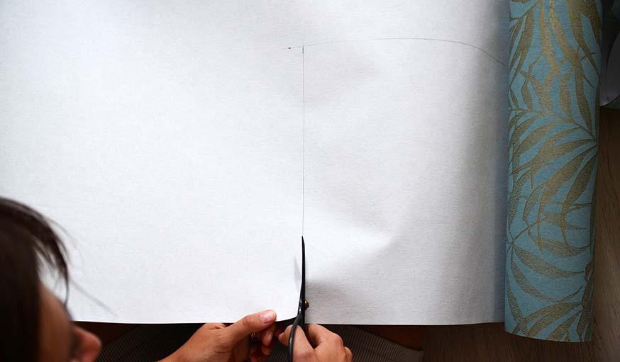 laver crayon de papier papier peint