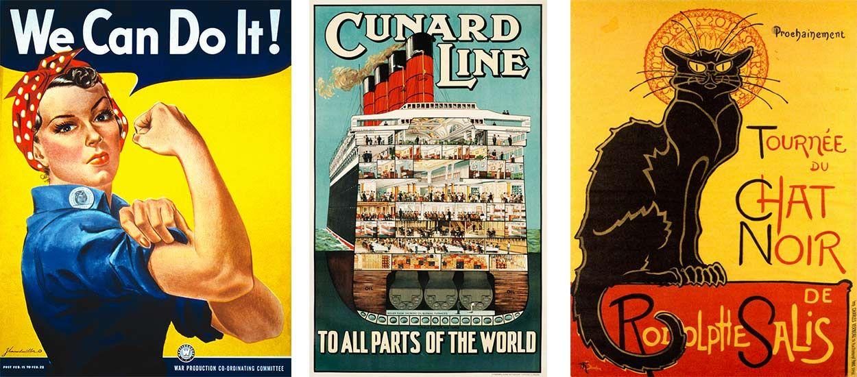 Connu Des affiches vintage gratuites en haute définition pour décorer  AJ24