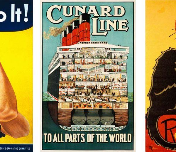 Ces 5000 affiches gratuites vont ravir les amateurs de déco vintage !