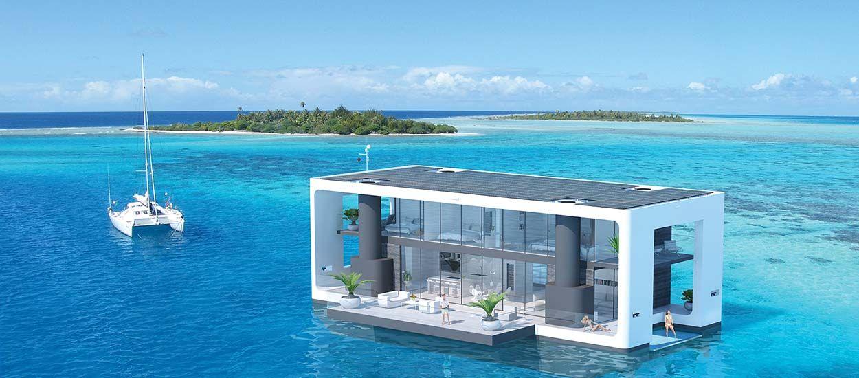 Cette maison flottante navigue et r siste aux ouragans - Maison flottante ...