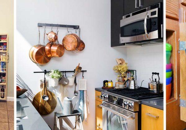 22 Astuces Pour Amenager Une Mini Cuisine Idees Rangement Dans