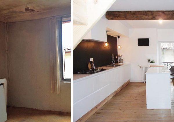Aménager des combles pour créer deux chambres parentales : avant / après