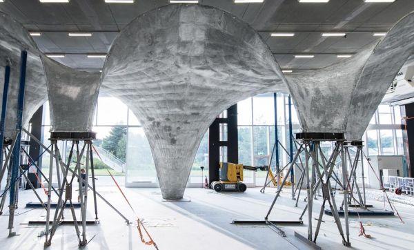 Ce toit en béton extrêmement fin est révolutionnaire