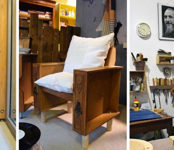 Découvrez les meubles récup', design et solidaires créés par les salarié-es d'Emmaüs