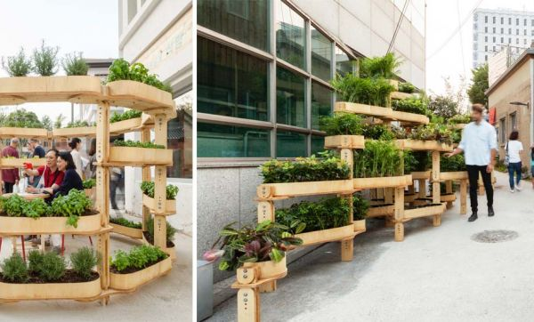 Cultivez votre ville grâce à ces jardinières à fabriquer vous-même