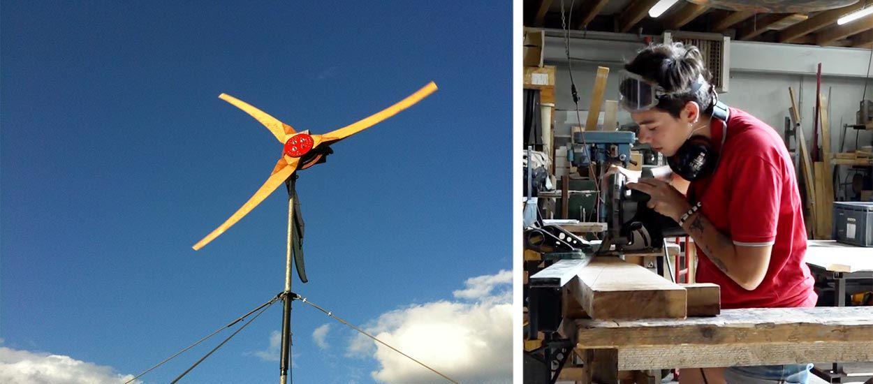 Construisez une éolienne pour seulement 350 euros